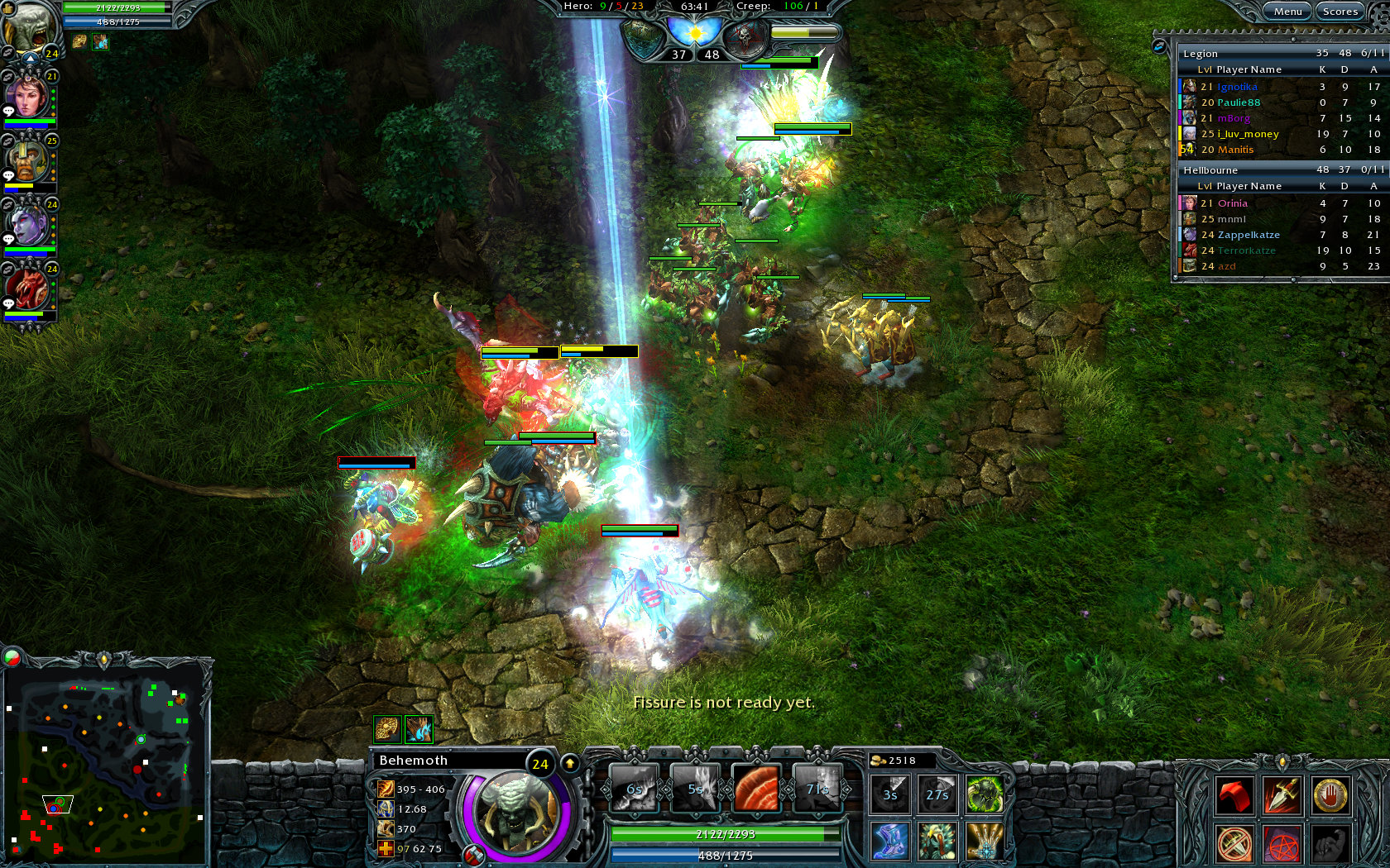 heroes of newerth free for one week gamezroomx. Black Bedroom Furniture Sets. Home Design Ideas